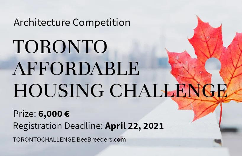 فراخوان چالش رقابت مسکن مقرون به صرفه در تورنتو