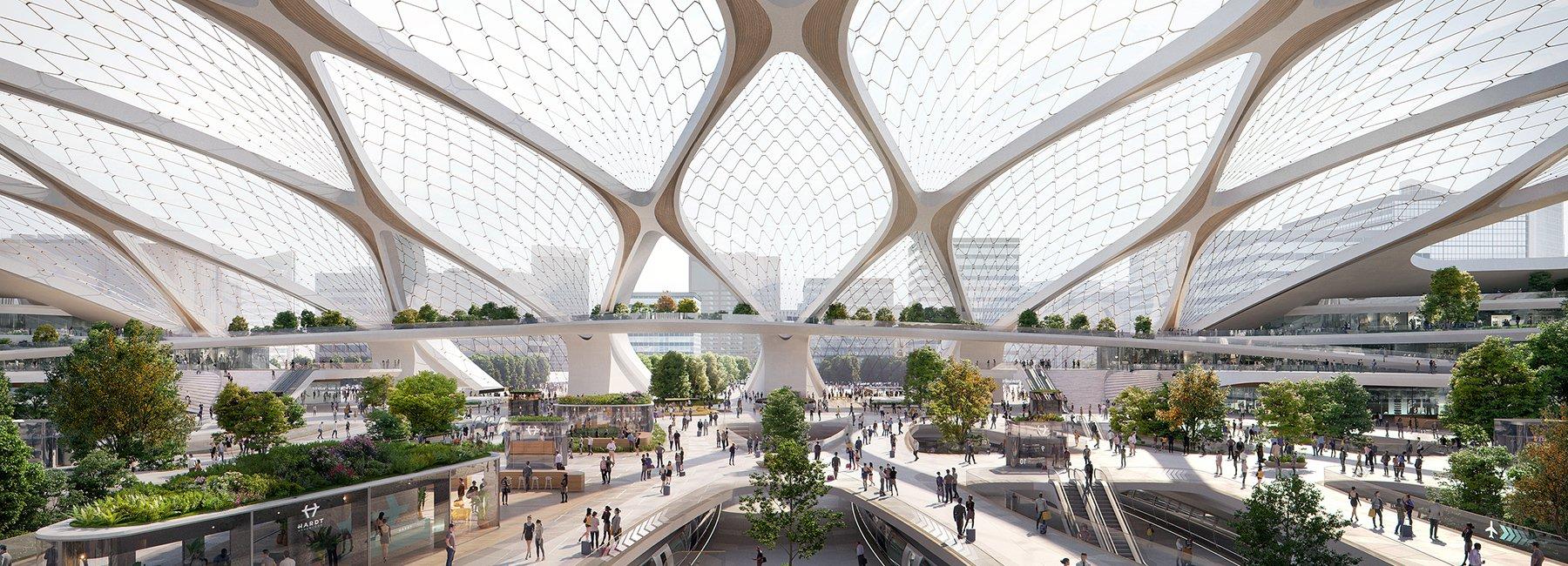 """رونمایی از طرح """"ایستگاههای آینده"""" توسط شرکت معماری UNStudio"""