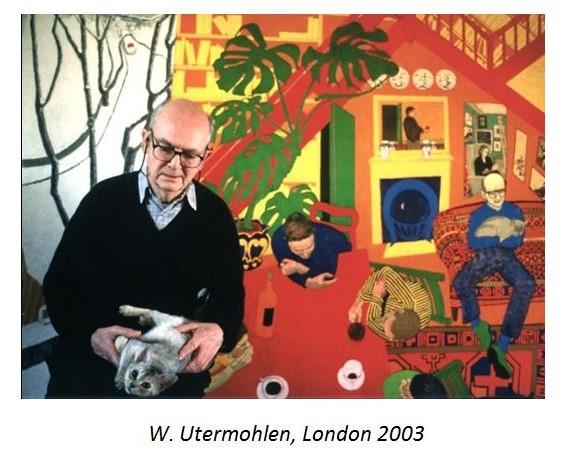 """نگاهی به زندگی و آثار هنرمند نقاش مبتلا به آلزایمر """"ویلیام اوترموهلن"""""""