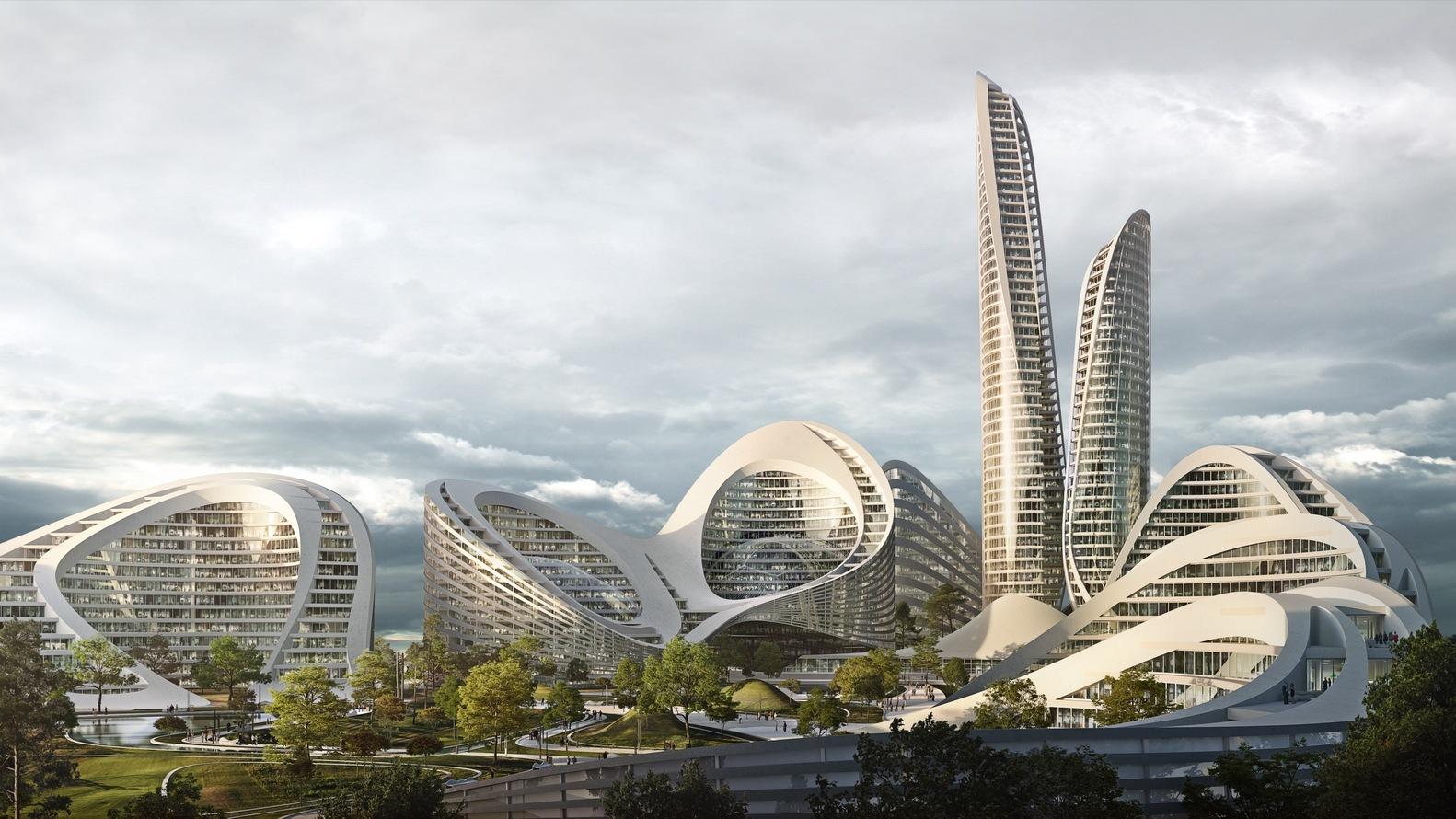 معماران زاها حدید در میان شرکت های انتخاب شده برای پروژه اَبرشهر هوشمند روسیه