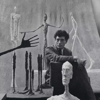 نمایش آثار آلبرتو جاکومتی در موزه گوگنهایم بیلبائو