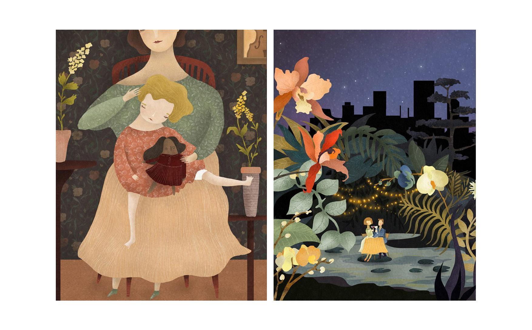 نگاهی به زندگی و آثار تصویرسازی Amalia Restrepo