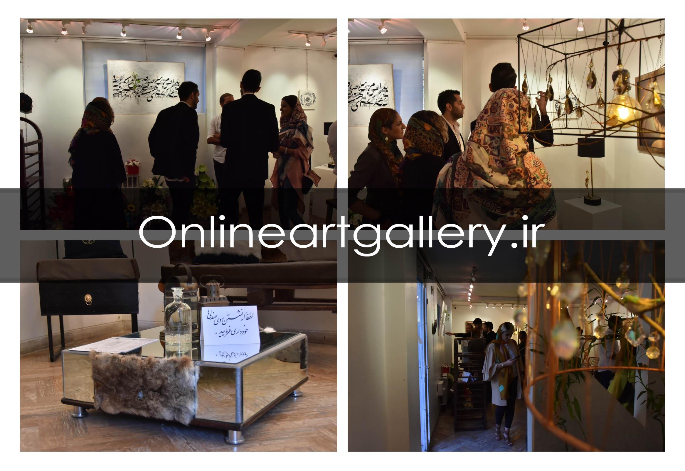گزارش تصویری نمایشگاه هنرهای کاربردی و مبلمان در گالری نقش جهان