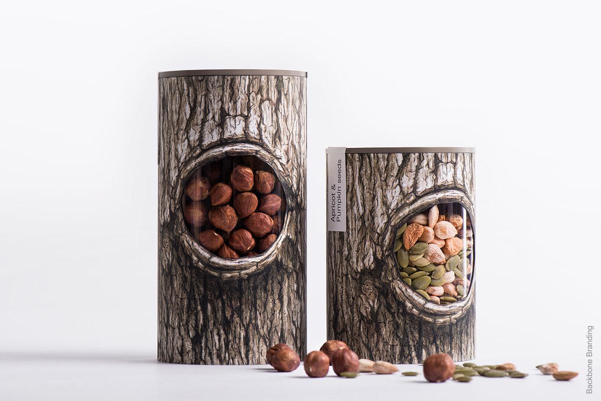 بسته بندی هوشمندانه برای آجیل و میوه های خشک