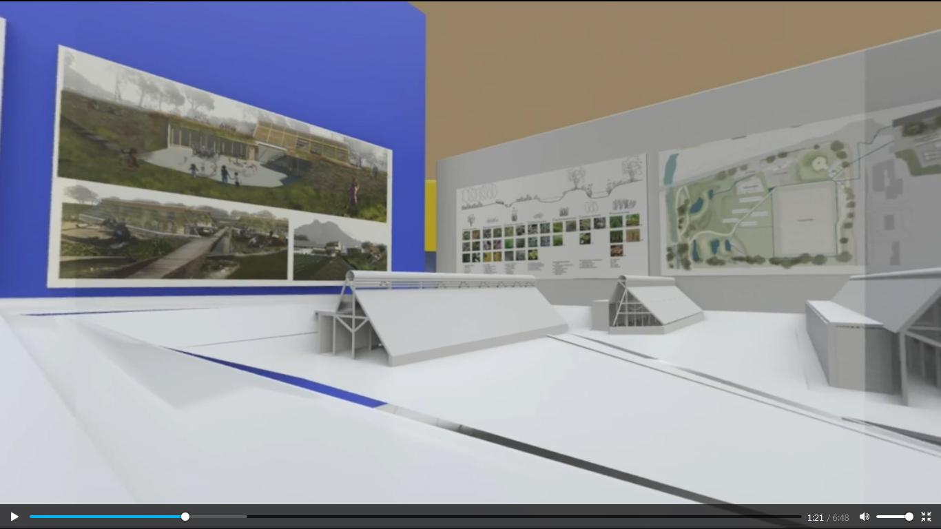 نمایشگاه معماری مجازی BAS