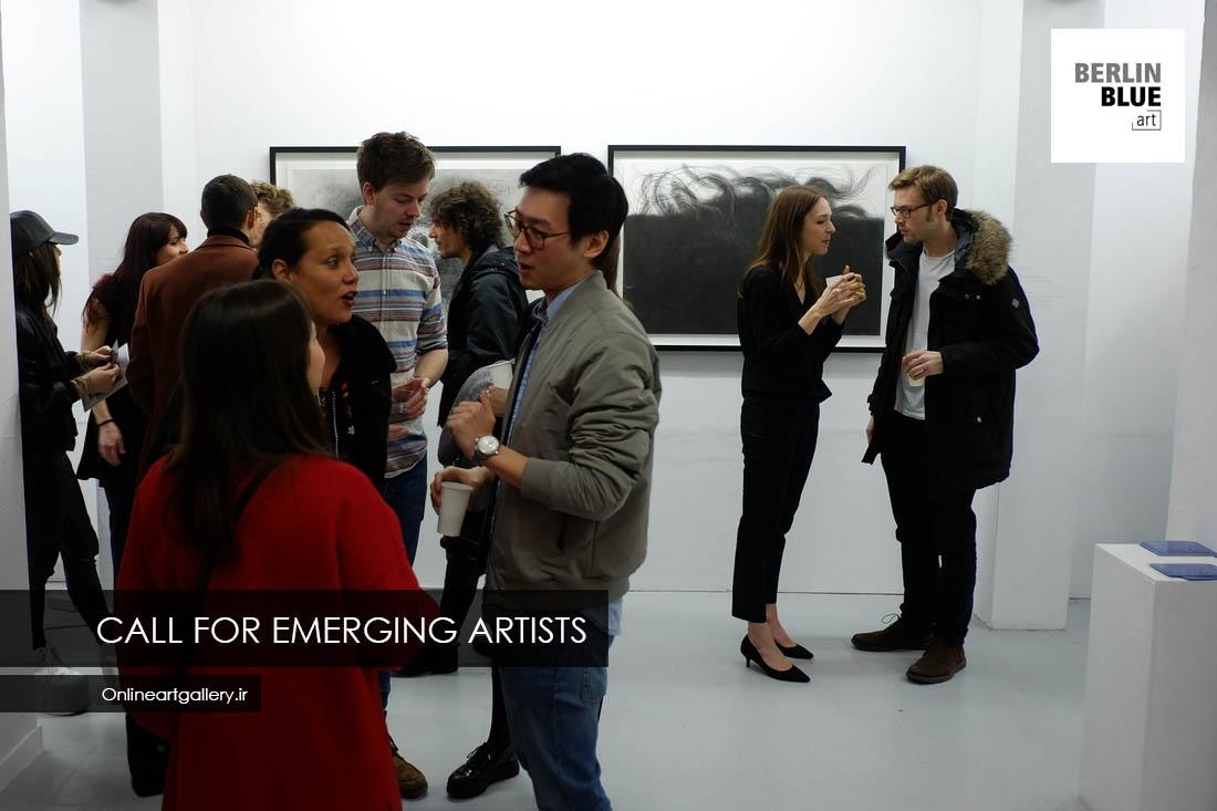 """فراخوان نمایشگاه و رقابت هنرهای تجسمی گالری """"BERLIN BLUE art"""" آلمان"""