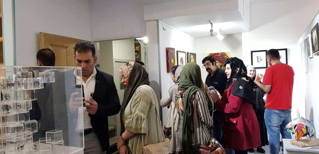 """گزارش تصویری نمایشگاه """"خودمان"""" در گالری پل"""