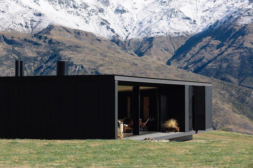 ظهور حجم های سیاه در کوه های آلپ نیوزیلند