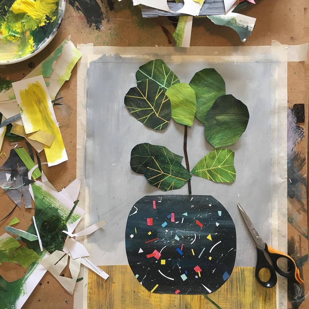 سکوت زندگی در تصویرسازی های رنگارنگ Clover Robin