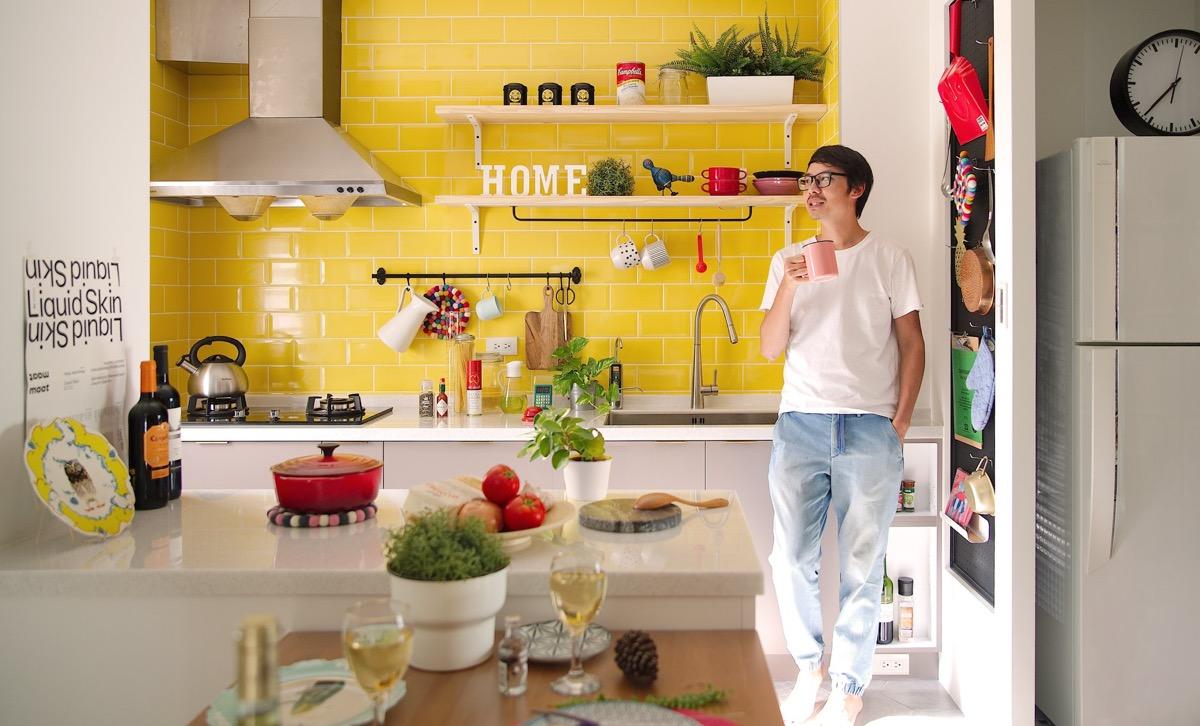 بازسازی دکوراسیون داخلی خانه ای 63 متری در تایوان