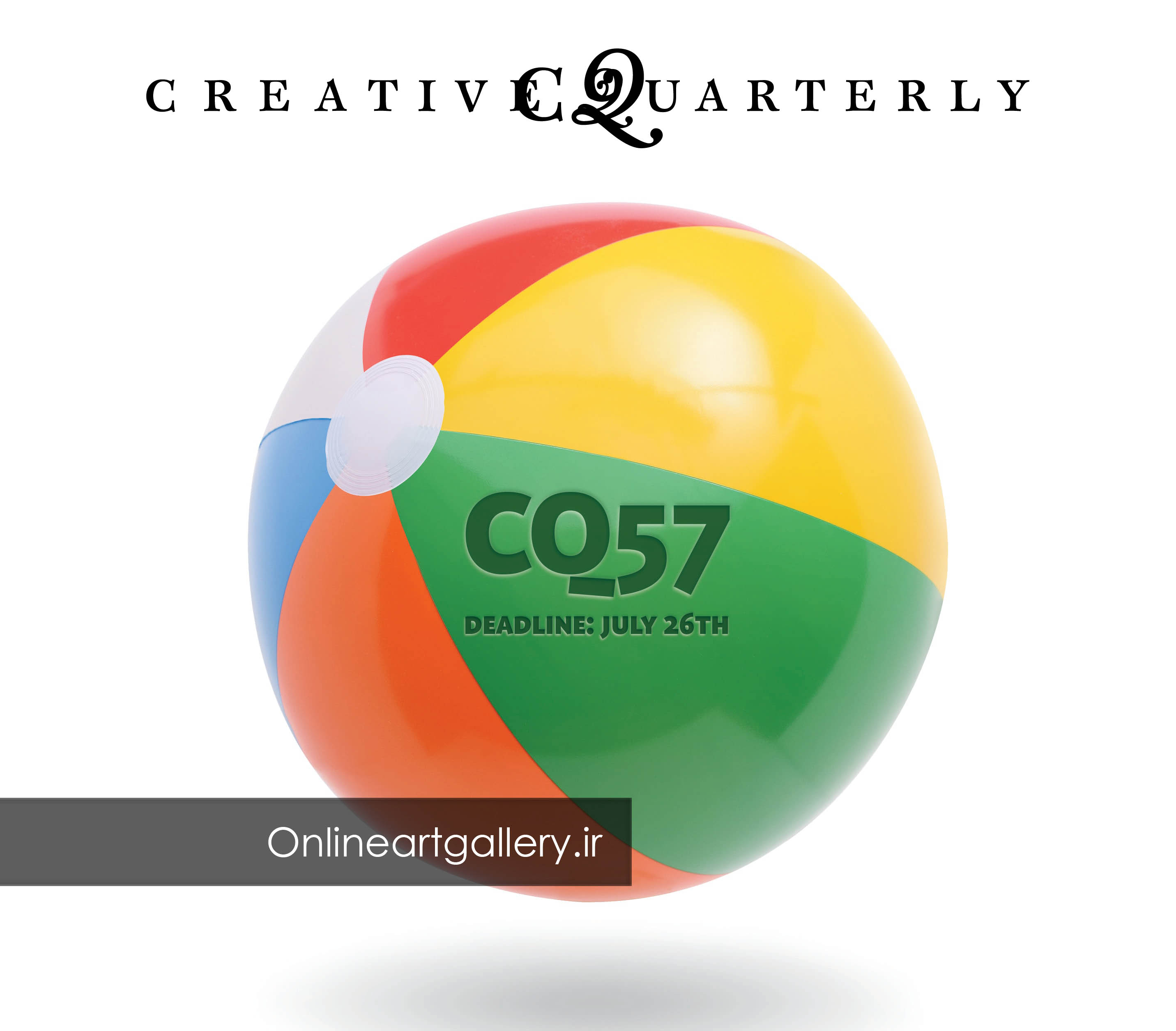 فراخوان رقابت هنرهای تجسمی مجله Creative Quarterly (CQ)