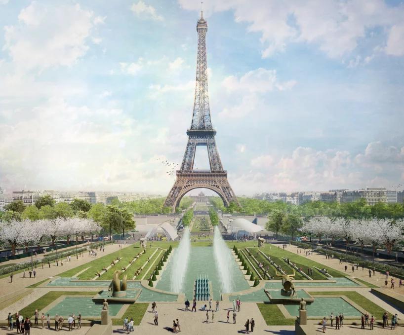 برج ایفل به زودی با پارک بزرگی احاطه می شود