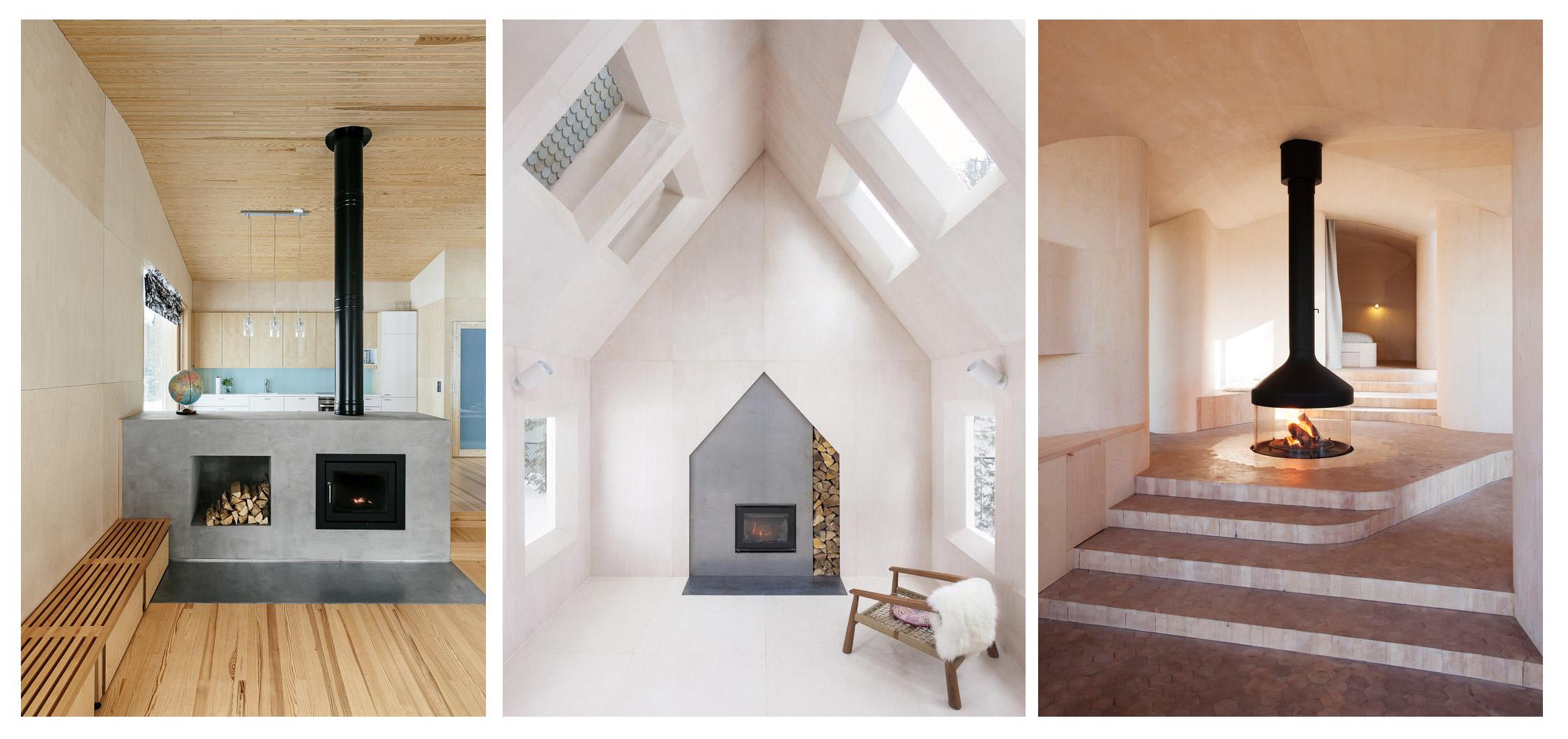 نگاهی به 35 شومینه جالب توجه در معماری (بخش اول)