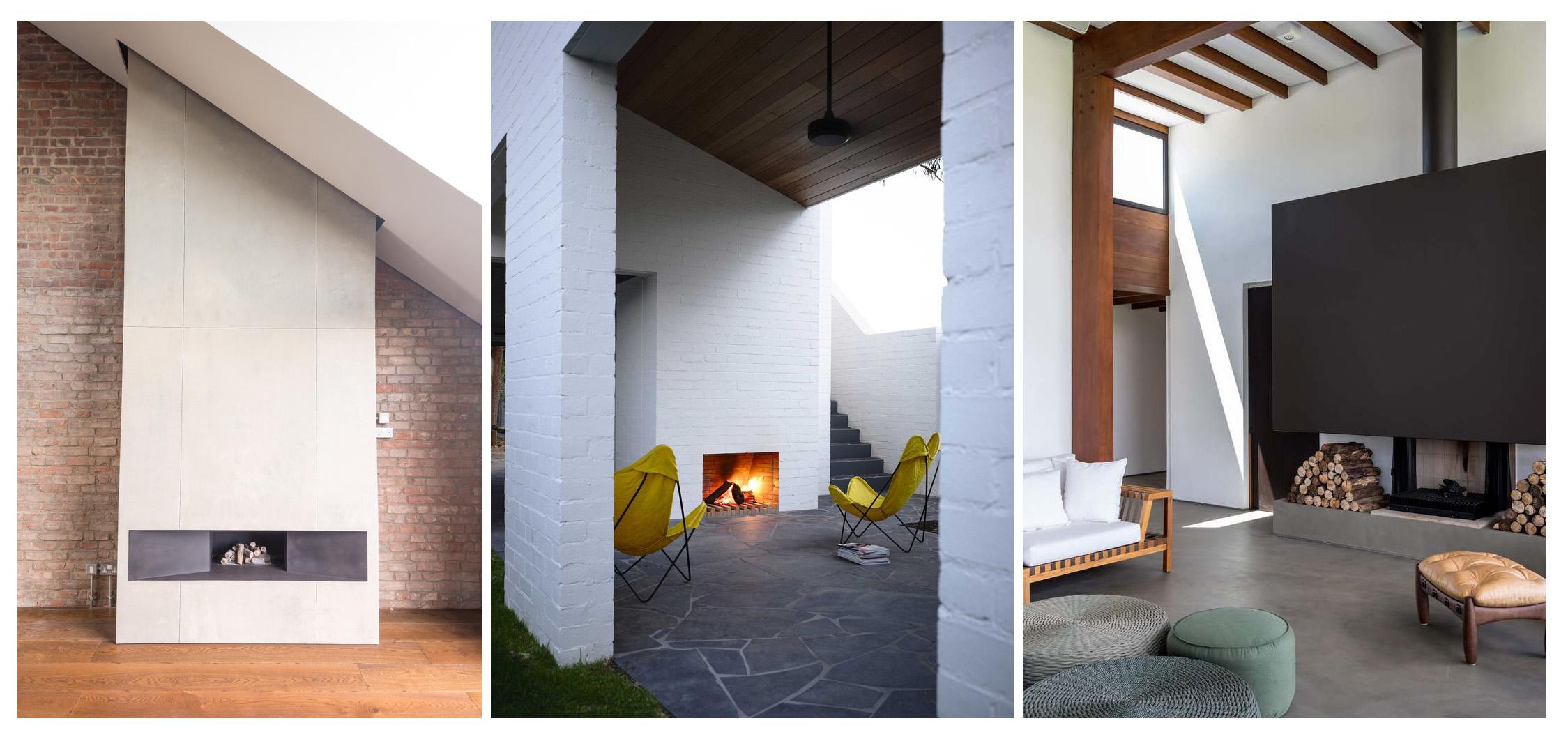نگاهی به 35 شومینه جالب توجه در معماری (بخش دوم)