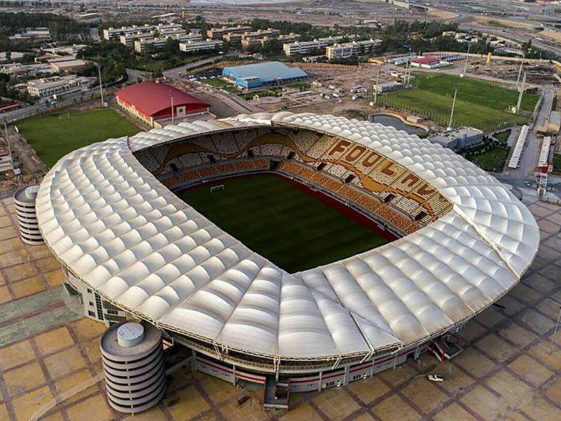 ورزشگاه شهدای فولاد خوزستان نامزد زیباترین ورزشگاه جهان در سال ۲۰۱۸
