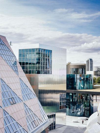 افتتاح منطقه طراحی لندن در شبه جزیره گرینویچ