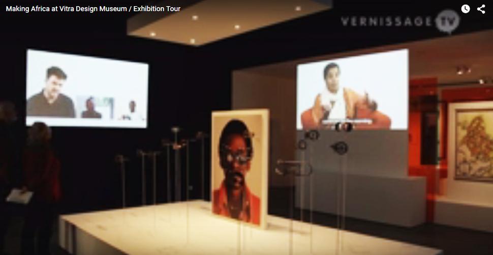 ویدئوی هنر آفریقا در Vitra Design Museum