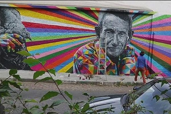 نقاشیهای دیواری برزیل مشکلات اجتماعی را بازتاب می دهند
