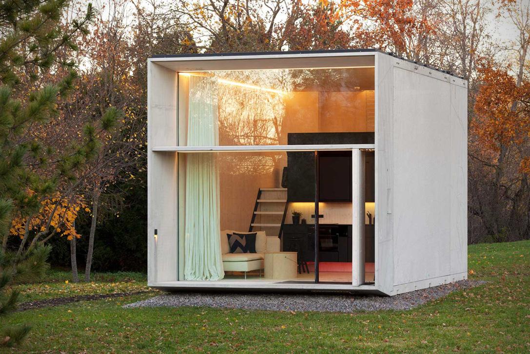 خانه کوچک طراحی شده توسط Kodasema در استونی