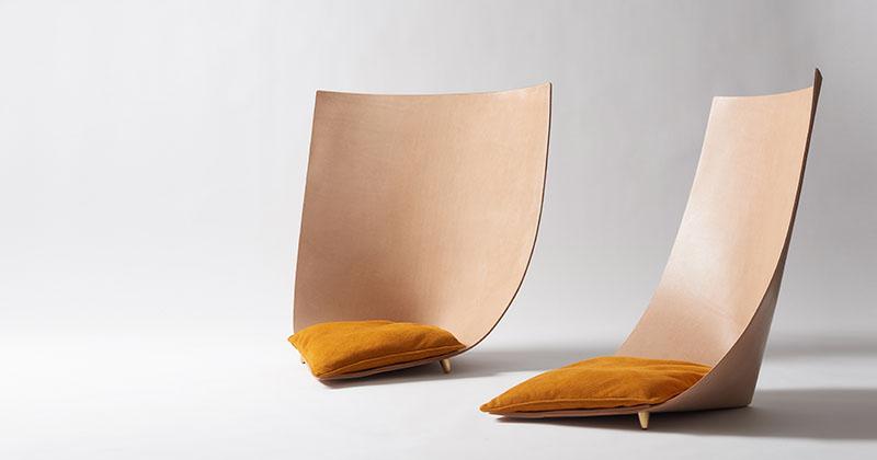 خلاقیت در طراحی صندلی ملهم از سفرهای بزرگ قبایل بیایانی