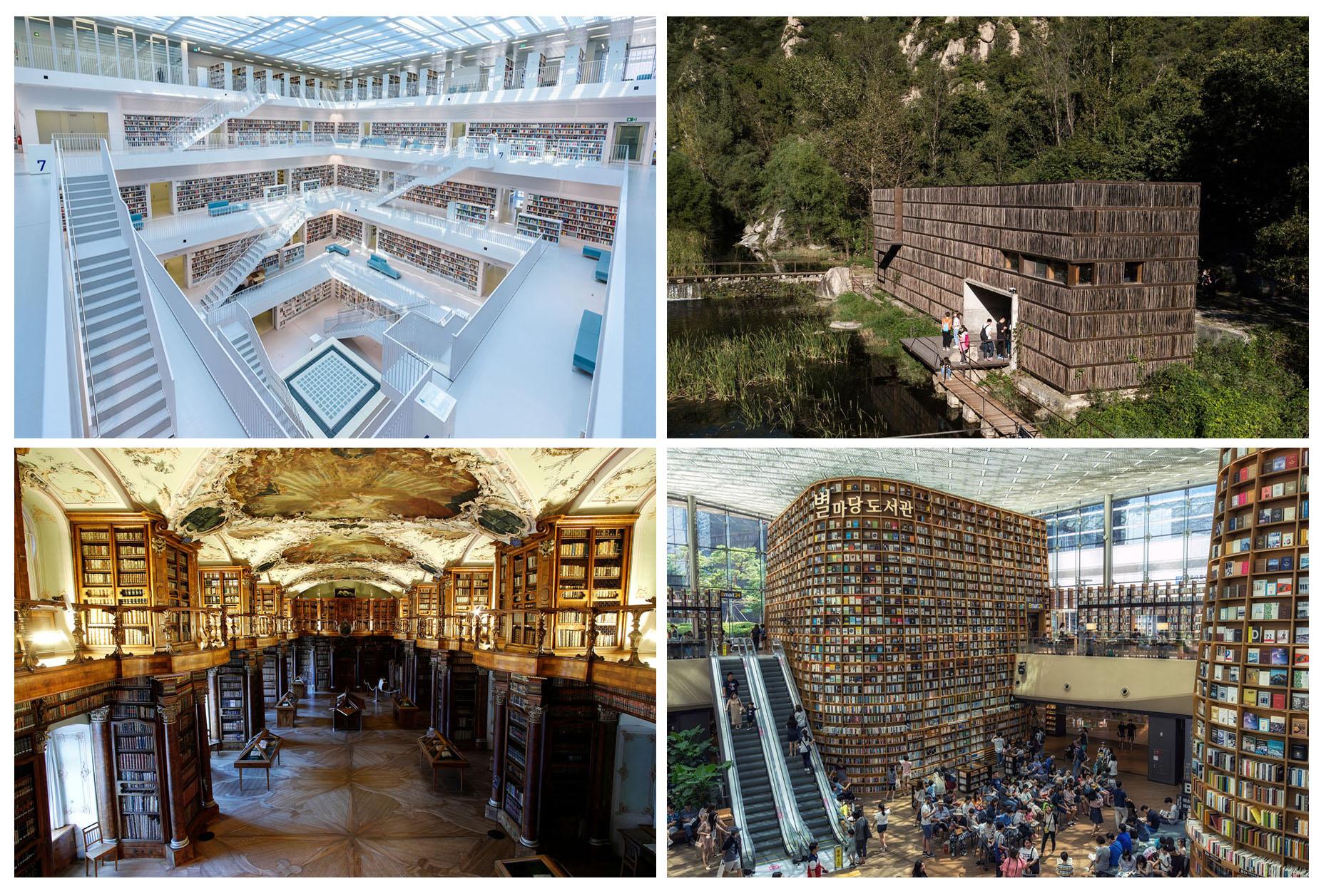 نگاهی به دیدنیترین کتابخانههای دنیا