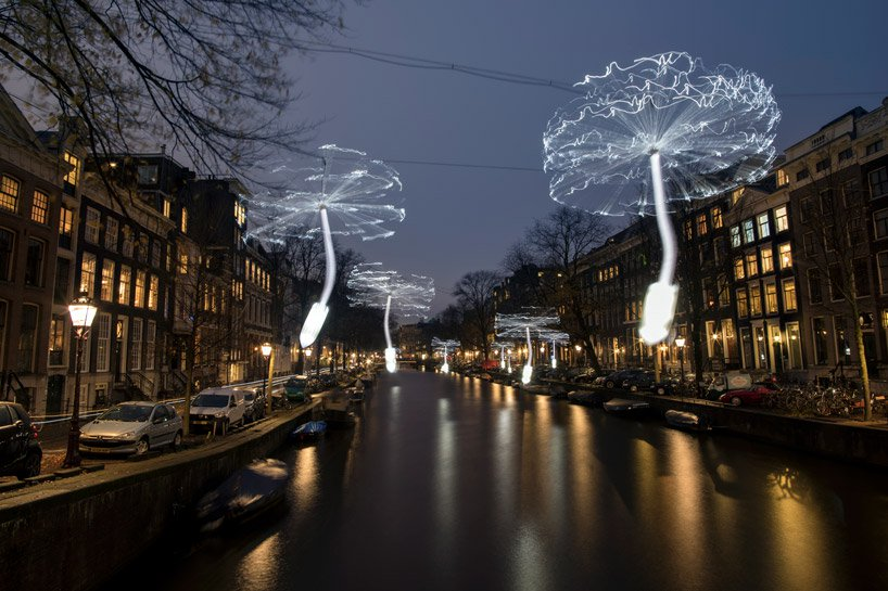 جشنواره نور آمستردام خیابان ها و کانال های شهر را روشن کرد