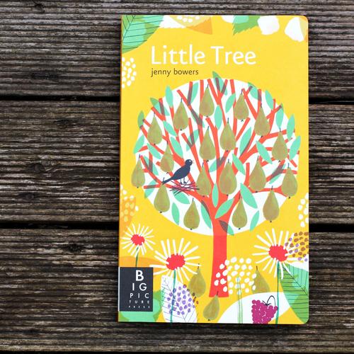 نگاهی به مجموعه تصویرسازی های کتاب درخت کوچک