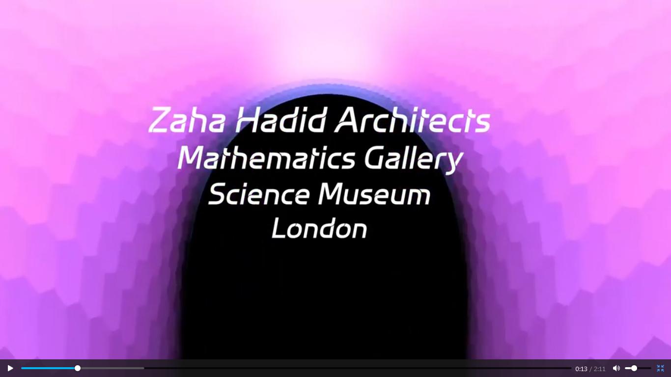 گالری ریاضیات در موزه علوم لندن