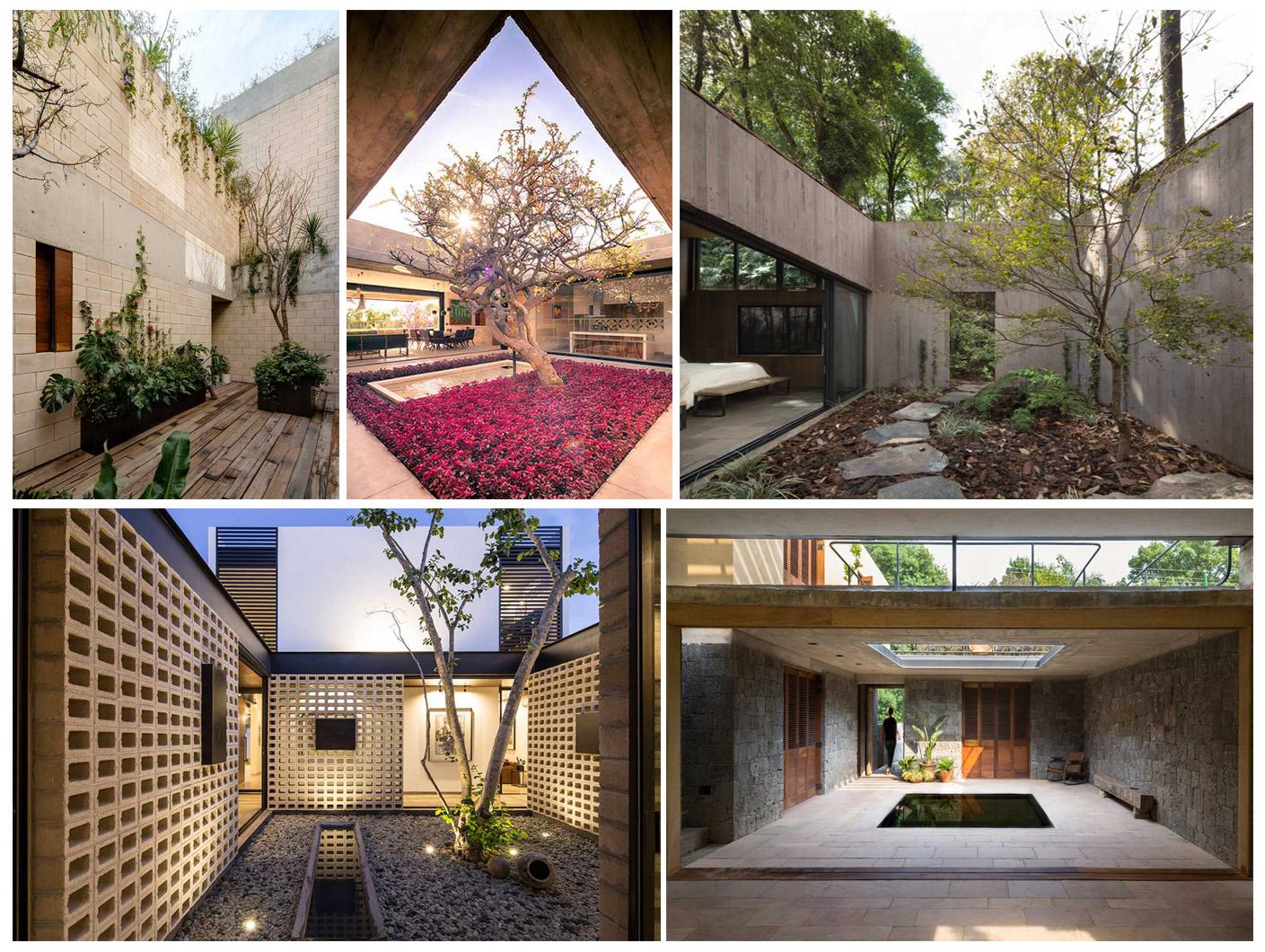 نگاهی به 14 پروژه در مکزیک با محوریت دعوت طبیعت بیرون به داخل
