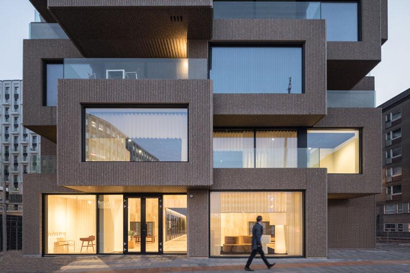موسسه OMA برج نوآوری را در استکهلم به پایان رساند