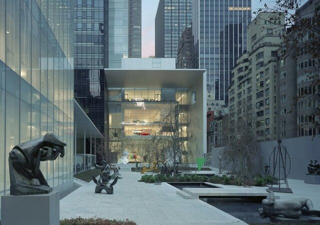 تعطیلی موزه هنر مدرن ایالات متحده به دلیل بازسازی