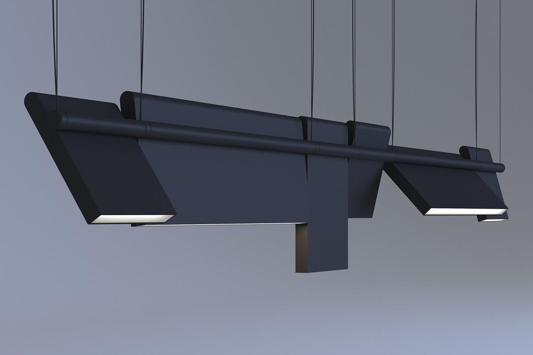 نگاهی به طراحی چراغ مدولار