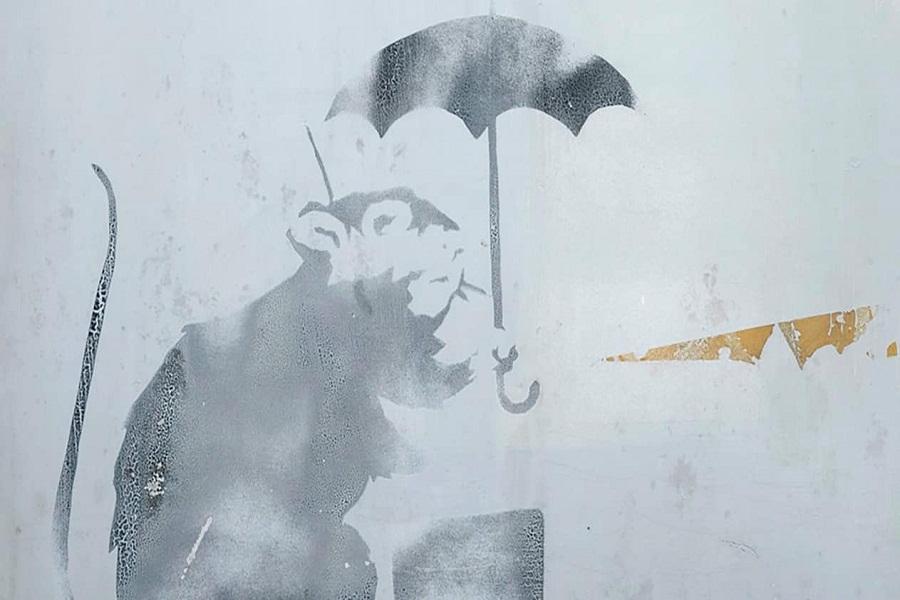 ردپای «بنکسی» در ژاپن