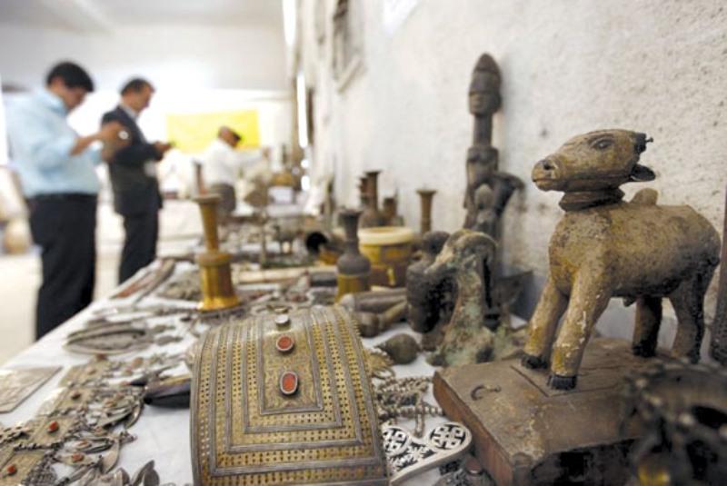 19 اثر تاریخی از قاچاقچیان کشف و ضبط شد