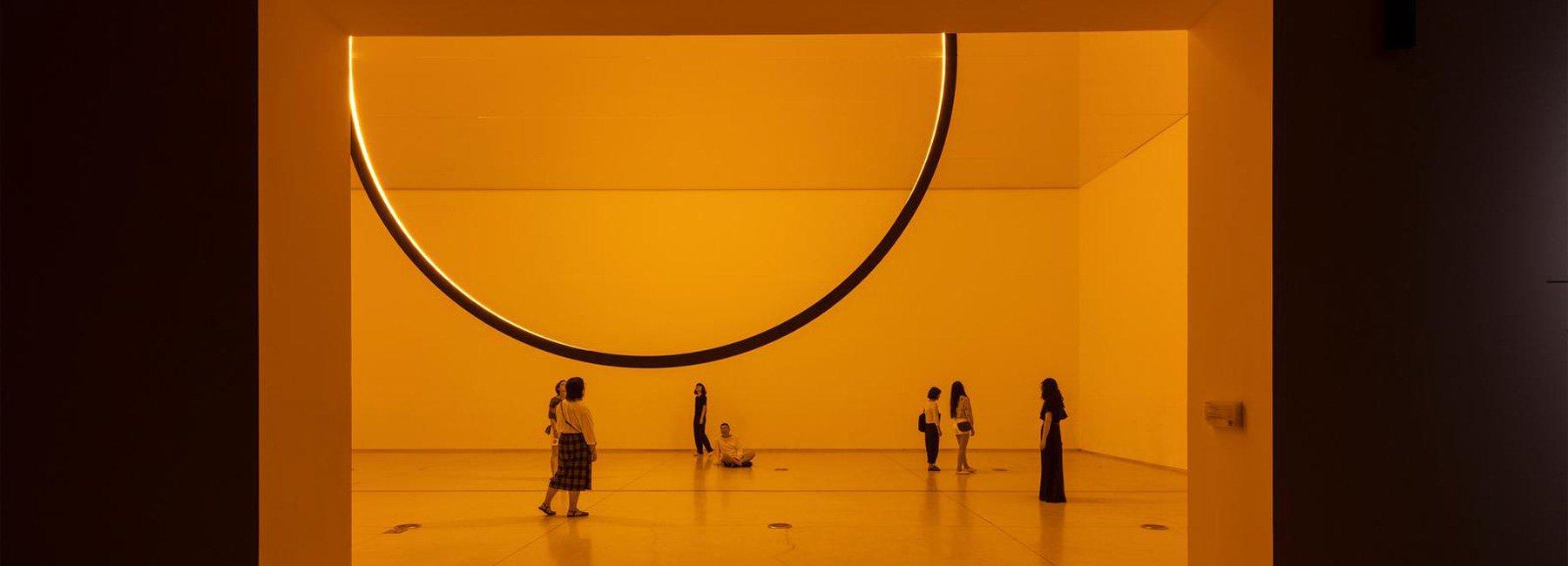 """""""پذیرش غیرقابل توصیف عناصر"""" در اولین نمایشگاه انفرادی olafur eliasson در پکن"""