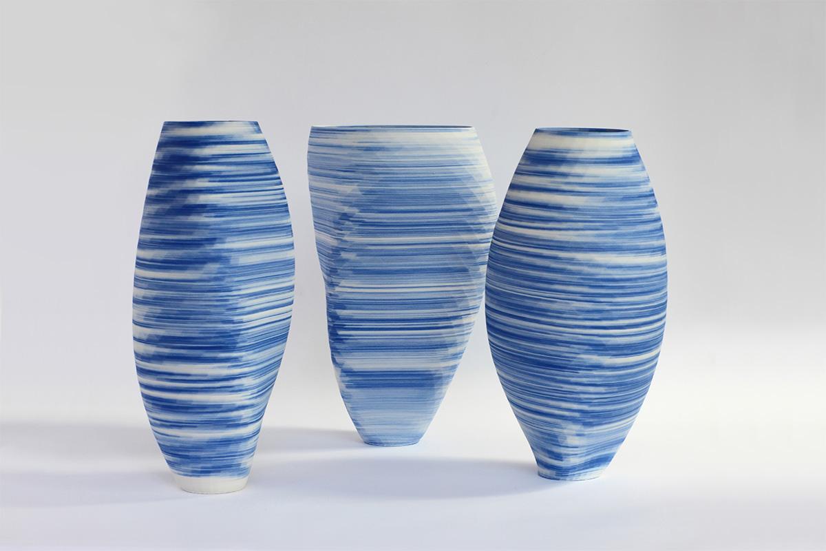 استفاده از چاپ سه بعدی در ساخت گلدانهای چینی