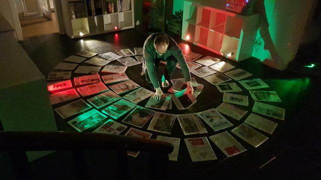 اجرای پرفورمنس آرت هنرمندان ایرانی در آلمان