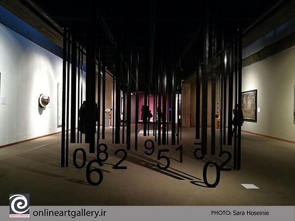 گزارش تصویری شماره 1 از آثار جشنواره هنرهای تجسمی فجر در موزه هنرهای معاصر تهران