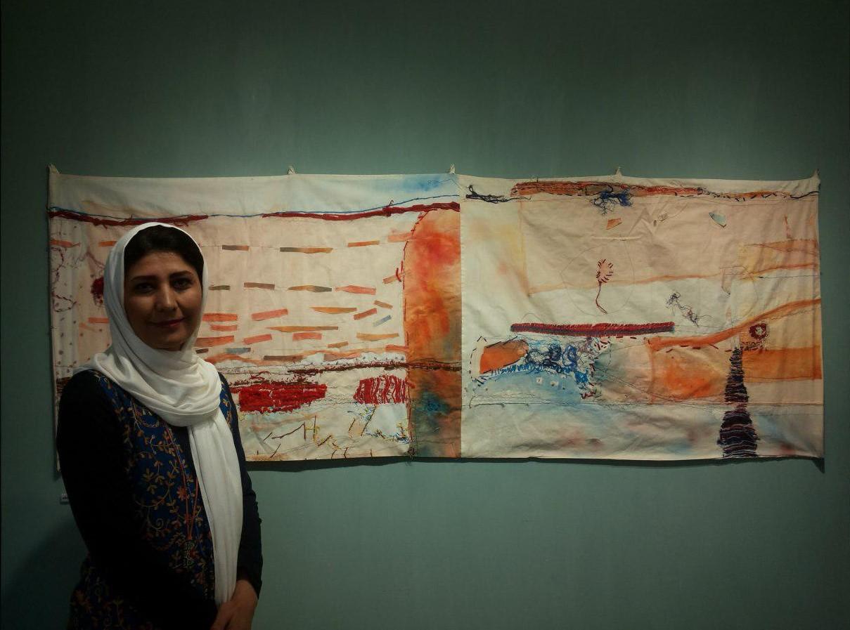 نگاهی به آثار مرحومه سهیلا شولی هنرمند خوزستانی