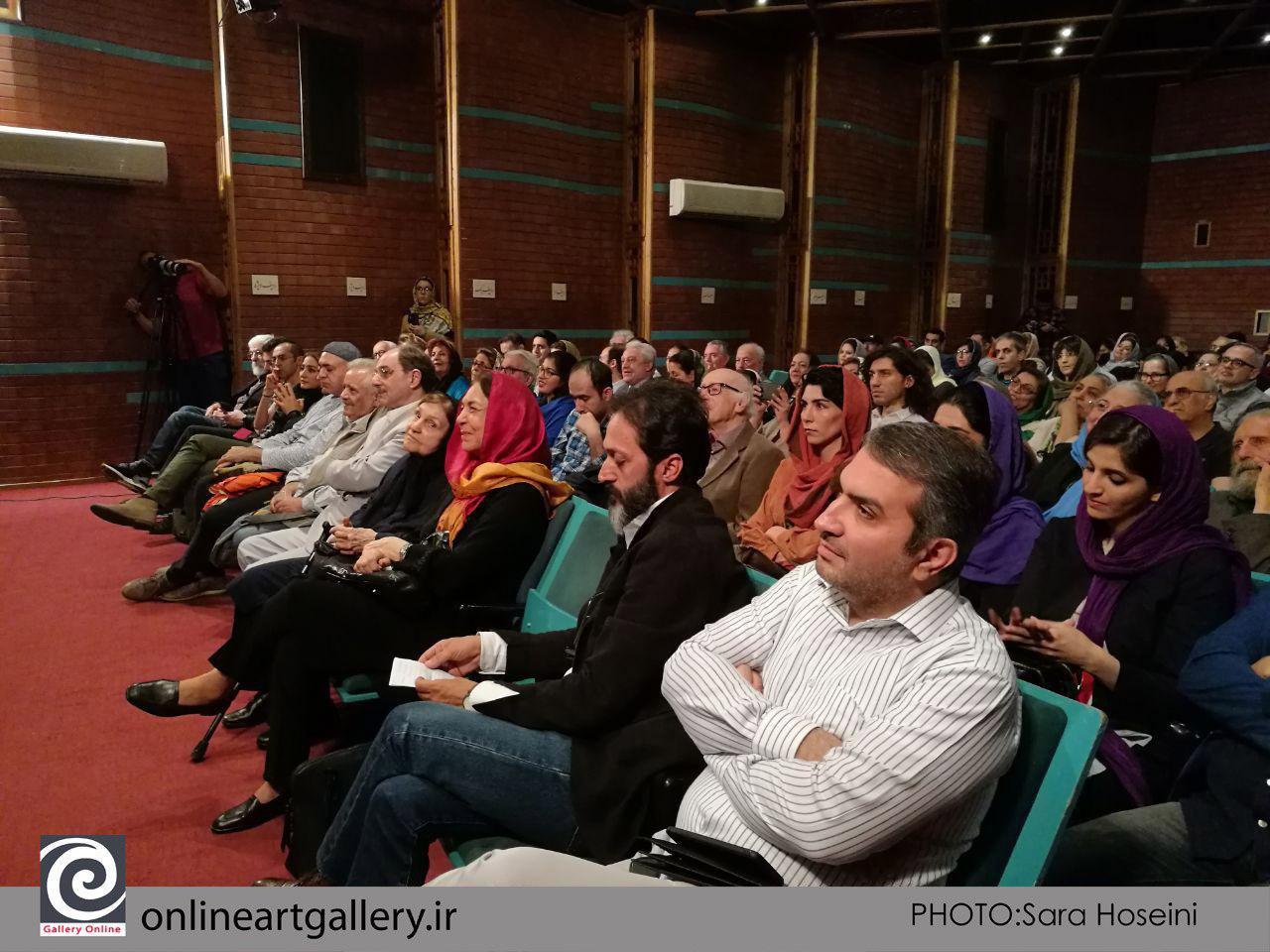 مراسم جشن انتشار کتاب گزیده آثار محمود جوادیپور برگزار شد