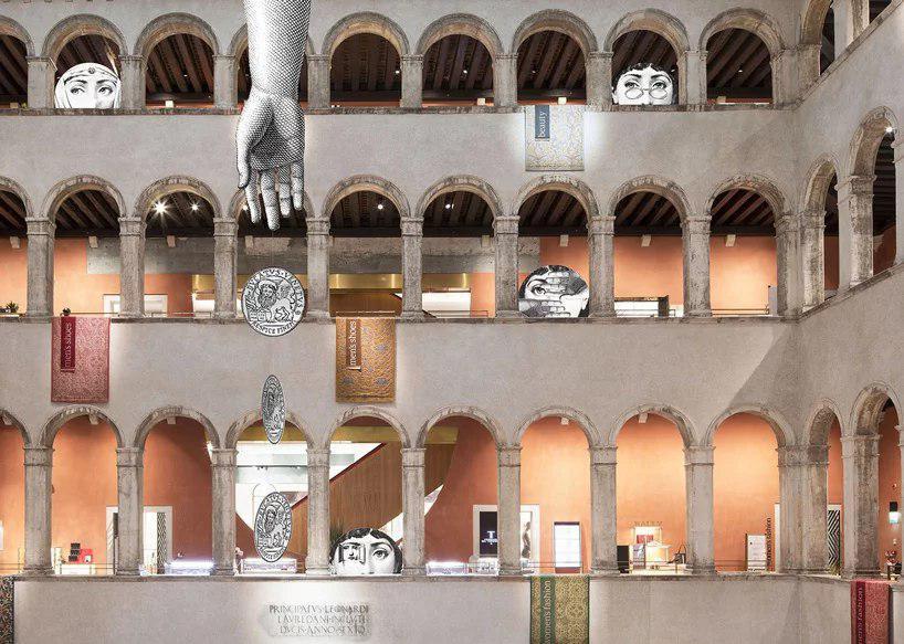 تصاویر fornasetti فروشگاه Fondaco dei Tedeschi ، ونیز را به تسخیر خود در میآورند