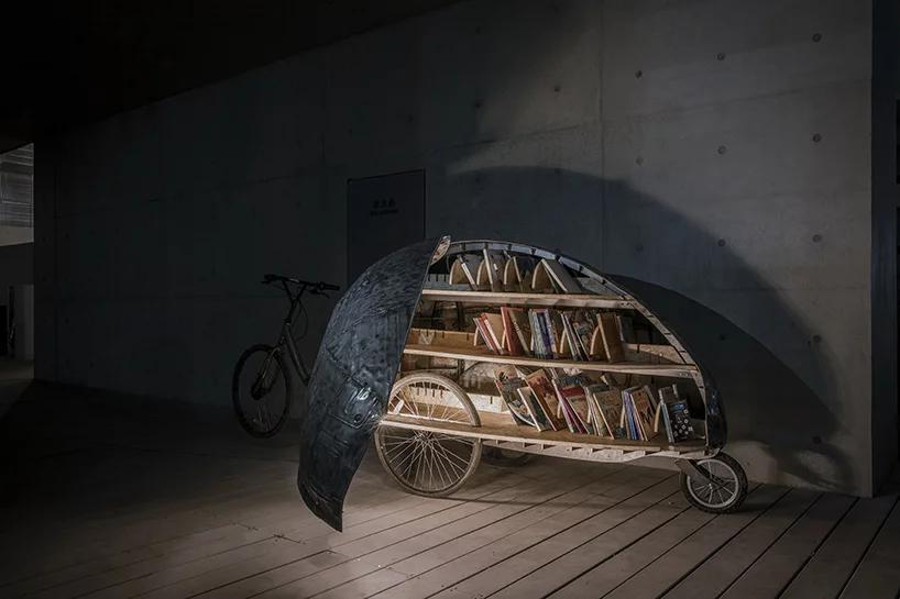 بالهای کفشدوزکها مکانی برای کتابخانی کودکان چینی
