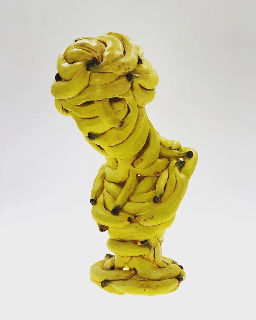 اشیا روزمره موزی شکل در آثار هنرمند ژاپنی