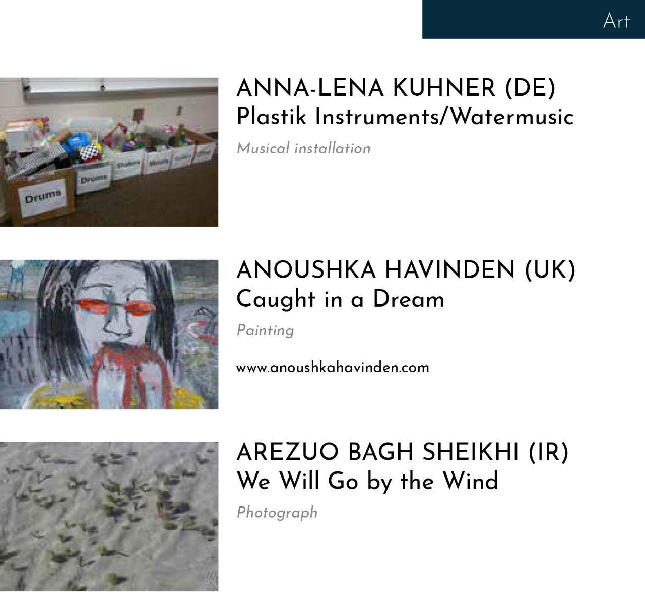 موفقیت آرزو باغشیخی در رقابت هنرهای تجسمی بین المللی
