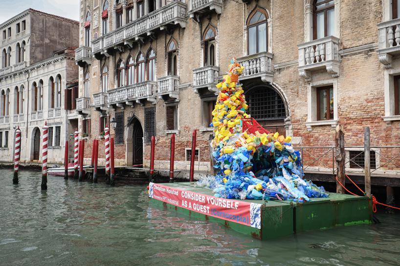 زباله های پلاستیکی به مثابه اثر هنری