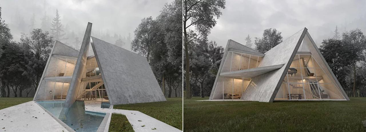 پیشنهاد معماران MADO برای ویلا سیسنگان در ایران