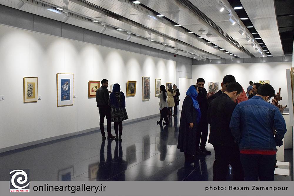 گزارش تصویری نخستین اکسپو هنرمندان پیشکسوت ایران در گالری پردیس ملت