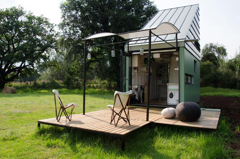 نگاهی به طراحی خانه کوچک POD Idladla