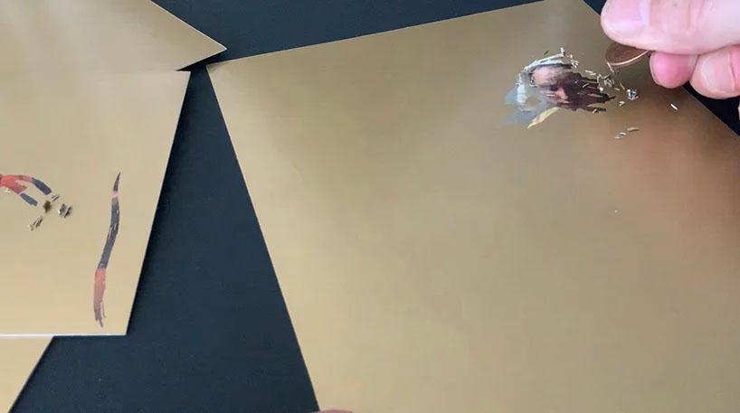 به تصویر کشیدن آثار هنری موزه rijks با استفاده از تکنیک scratch