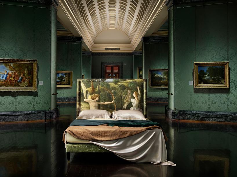 مشارکت منحصر به فرد گالری ملی لندن و تختهای savoir